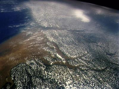 Mouth of Amazon River