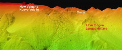 Mapping the Formation of an Underwater Volcano 2