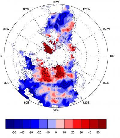 Winter Blockings Map