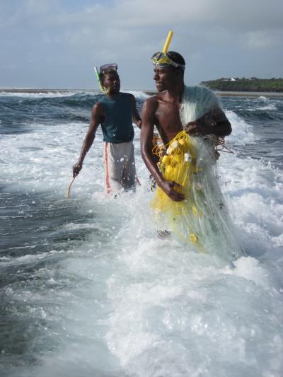 Net Fishermen in Mombassa