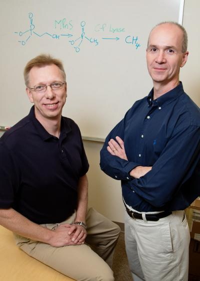 Wilfred van der Donk, and William Metcalf, University of Illinois