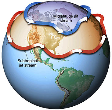 Ozone depletion trumps greenhouse gas increase in jet-stream shift ...
