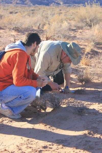 Researchers from Arizona State University Collect Microbe Samples in the Desert