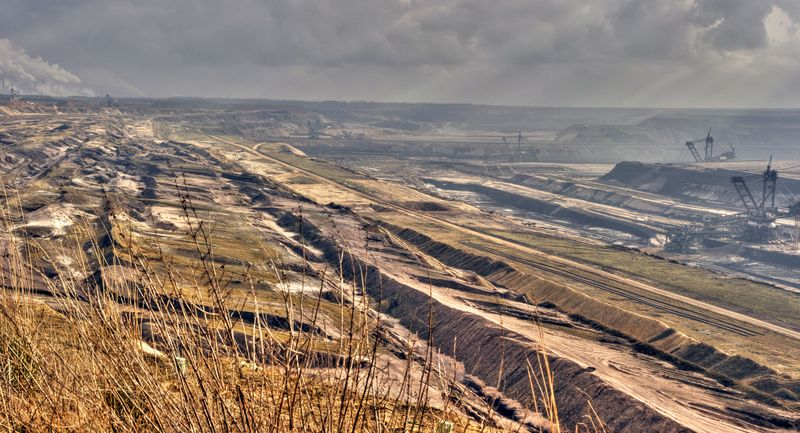 Open coal mine Garzweiler