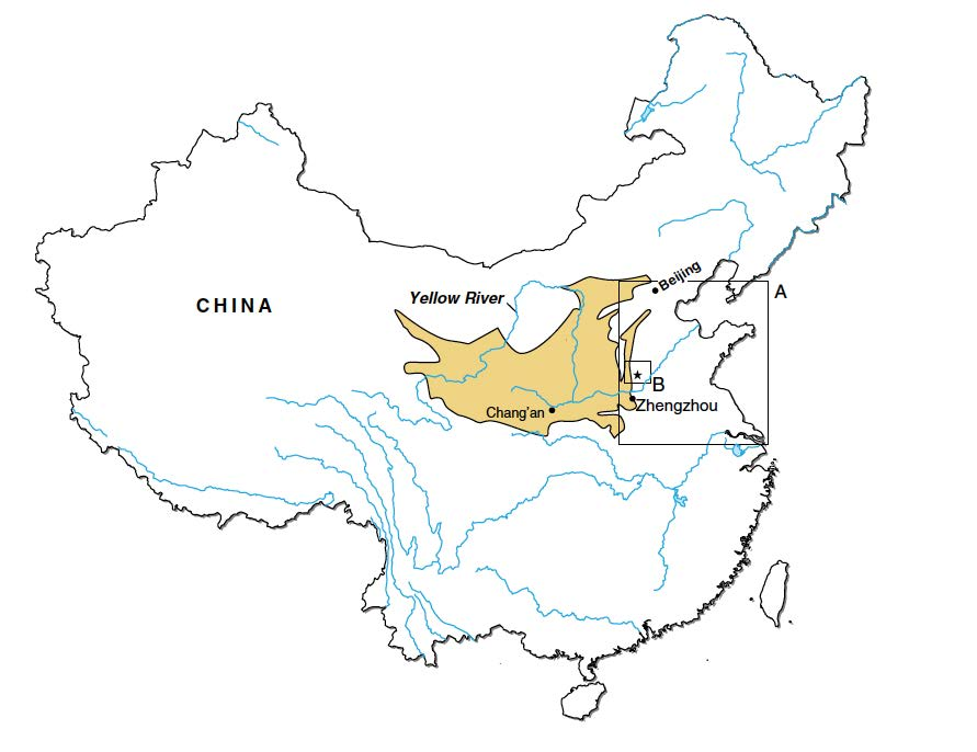 humans have been changing chinese environment for 3 000 years Beijing Street Map ab