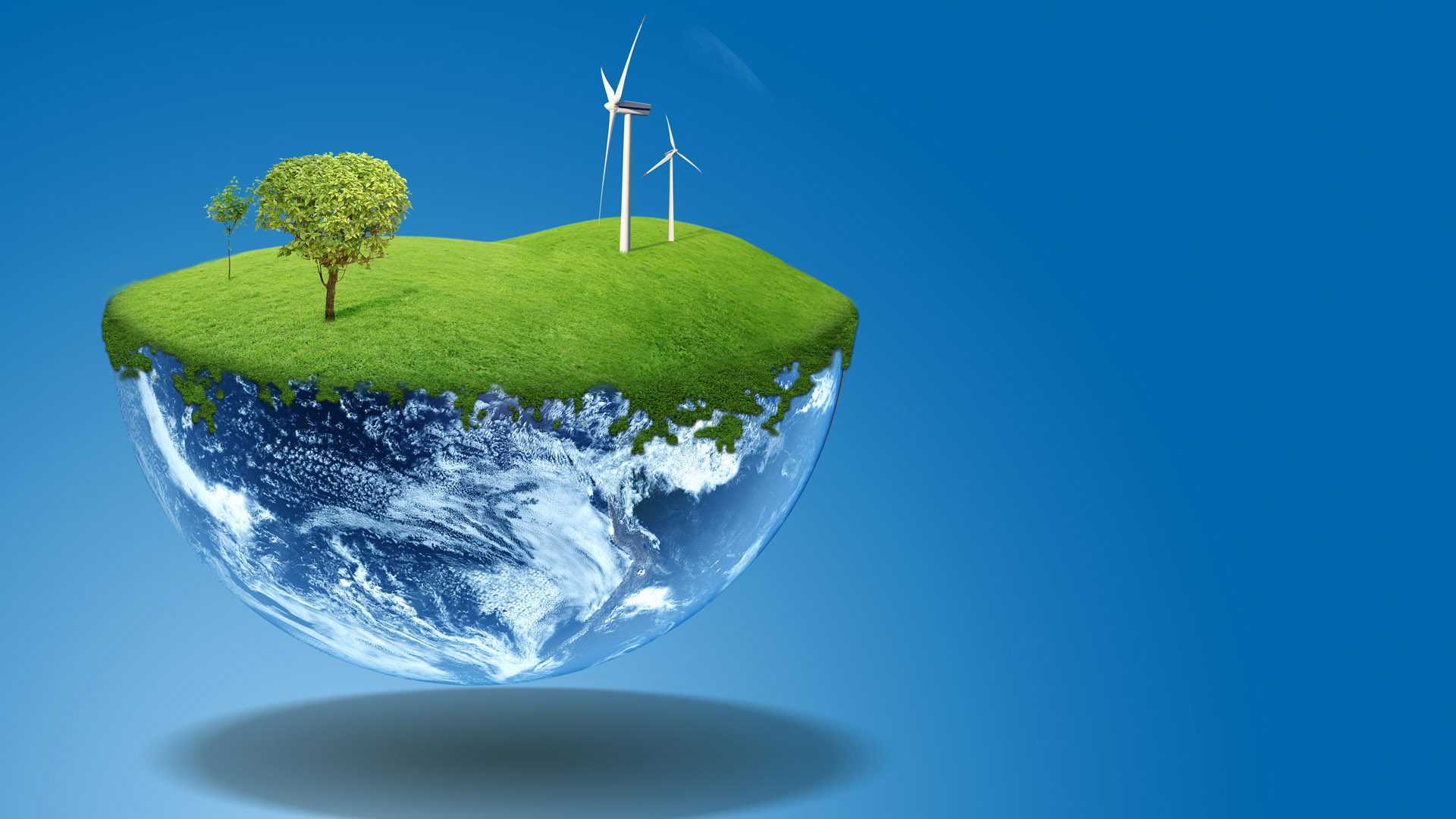 <b>Green Energy Wallpaper</b> With