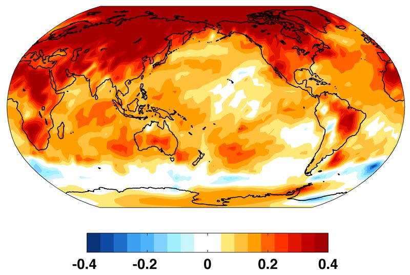 Risultati immagini per Oceans increasingly hotter: proliferate bacteria and algae